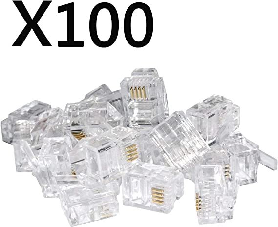 Connector RJ9 EXCL 4 IDC SYS Clamp Connection 940-SP-3044 RJ connector Verb 4p4c Pin