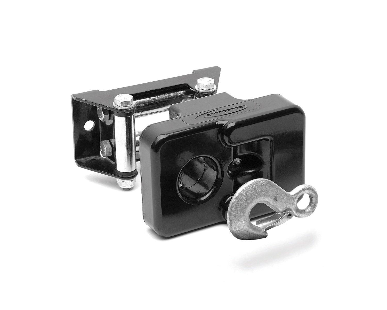 Daystar, UTV and ATV Small Winch hook fairlead Isolator; Black, fits all small UTV and ATV winches, KU70045BK, Made in America by Daystar