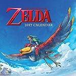 Legend of Zelda 2017 Wall Calendar