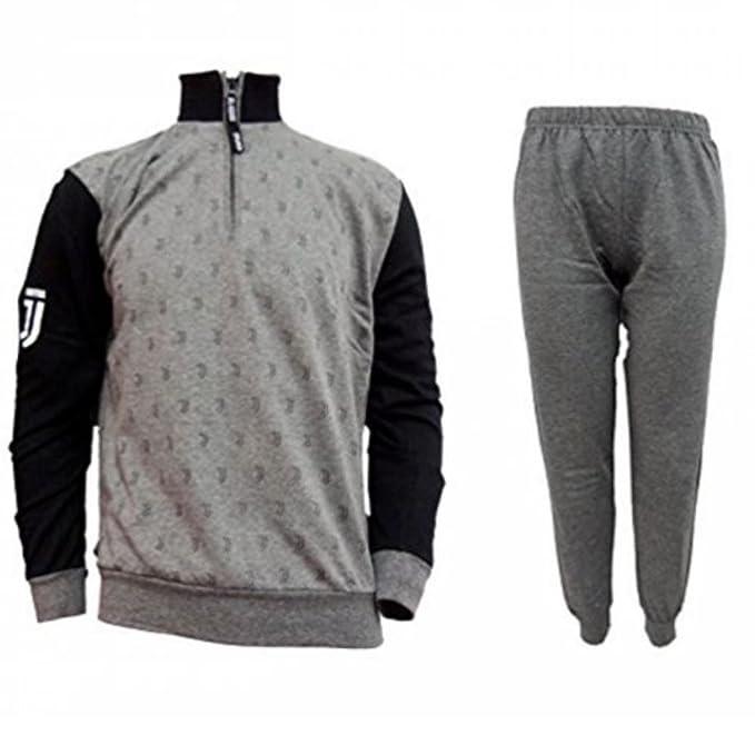 17d7f4e7be50d5 Pigiama Ragazzo Juve Felpato Abbigliamento Ufficiale Juventus PS 25717:  Amazon.it: Abbigliamento