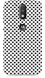 Amez designer printed 3d premium high quality back case cover for Motorola Moto G4 Plus (polka dots)