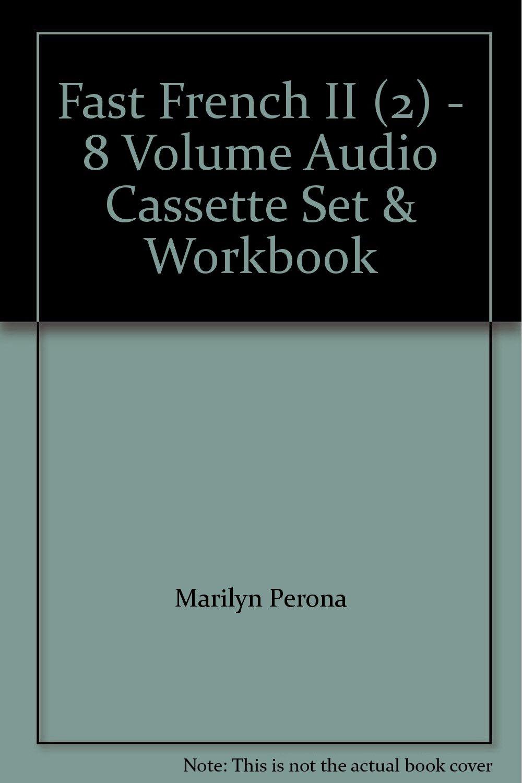 Fast French II (2) - 8 Volume Audio Cassette Set & Workbook ...