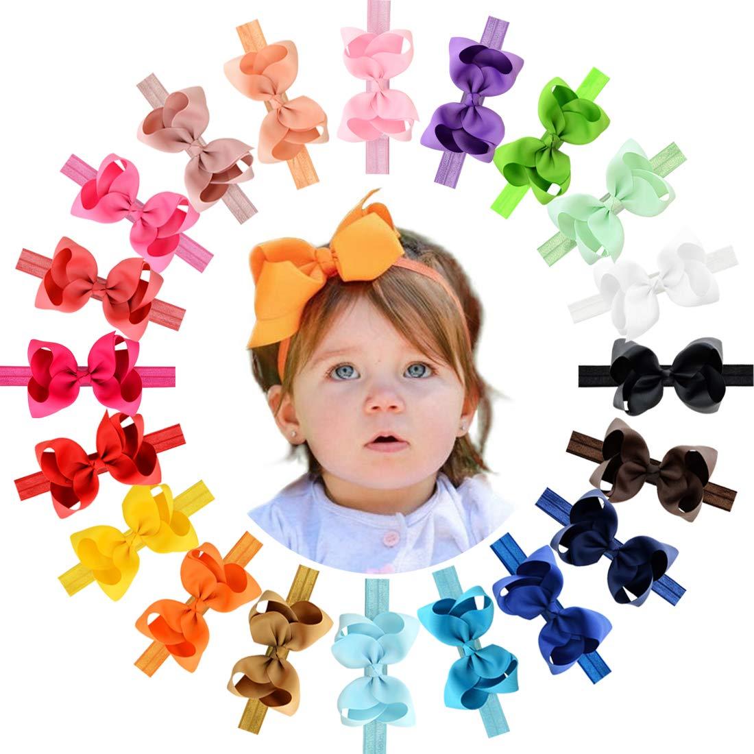 purple baby headband lilac headband bow infant headbands lavender baby headband hair bows for girls large hair bows double stack bows