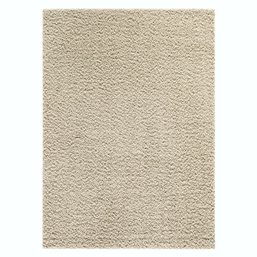 Kitchen Rugs, Maples Rugs [Made in USA][Catriona] 2'6 x 3'10 Non Slip Padded Small Area Rugs for Living Room, Bedroom, and Entryway - (Beige Kitchen)