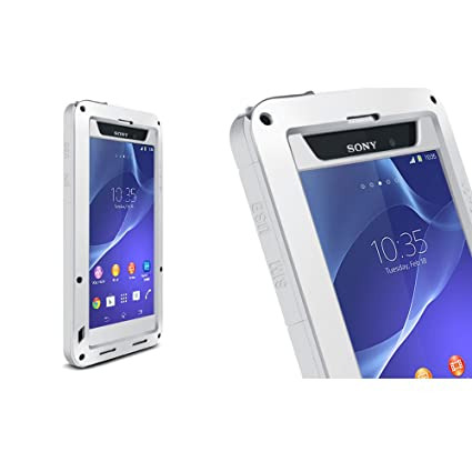 new style be07c 9b062 Case for Sony Xperia Z2, LOVE MEI Bradn Waterproof Shockproof ...