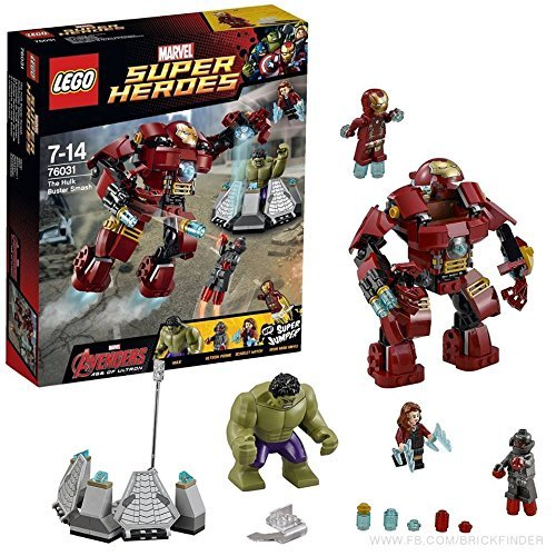 Lego Super Heroes 76031 Hulk Buster Smash [parallel import goods]