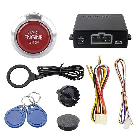 Easyguard EC008-P4 - Alarma RFID para Coche con Brazo ...