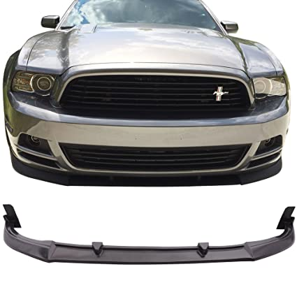 2013 Mustang Front Bumper >> Amazon Com Front Bumper Lip Fits 2013 2014 Ford Mustang