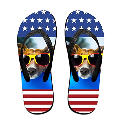 2a6670f8e9729e Beach Holiday Corgi Unisex Flip Flops Comfort EVA Non-Slip Pool Sandal  Holiday Travel Beach
