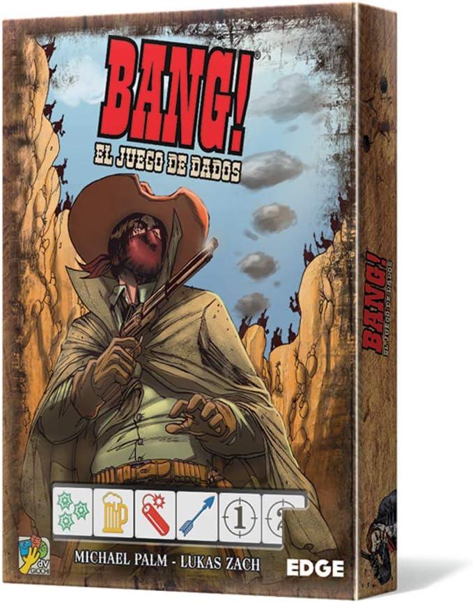 Edge Entertainment-Bang: El Juego De Dados, Multicolor (EEDVBD01 ...