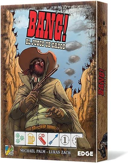 Edge Entertainment-Bang: El Juego De Dados, Multicolor (EEDVBD01): Amazon.es: Juguetes y juegos