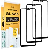 [3-Pack]-Mr Shield for OnePlus 6/OnePlus Six [Japan Tempered Glass] [9H Hardness] [Full Screen Glue Cover] Screen Protector with Lifetime Replacement Warranty