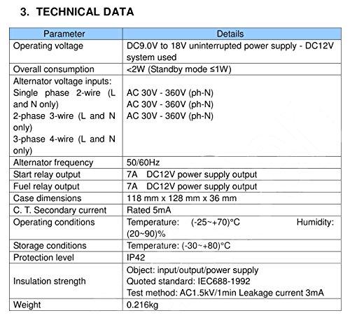 618g5o4zbAL smartgen hgm501 manual start generator controller desertcart smartgen controller wiring diagram at gsmportal.co