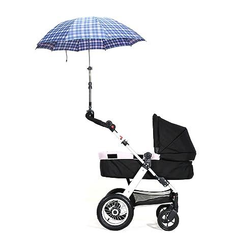 Soporte de barra de paraguas para bicicleta para cochecito de bebé cochecito silla paraguas conector soporte