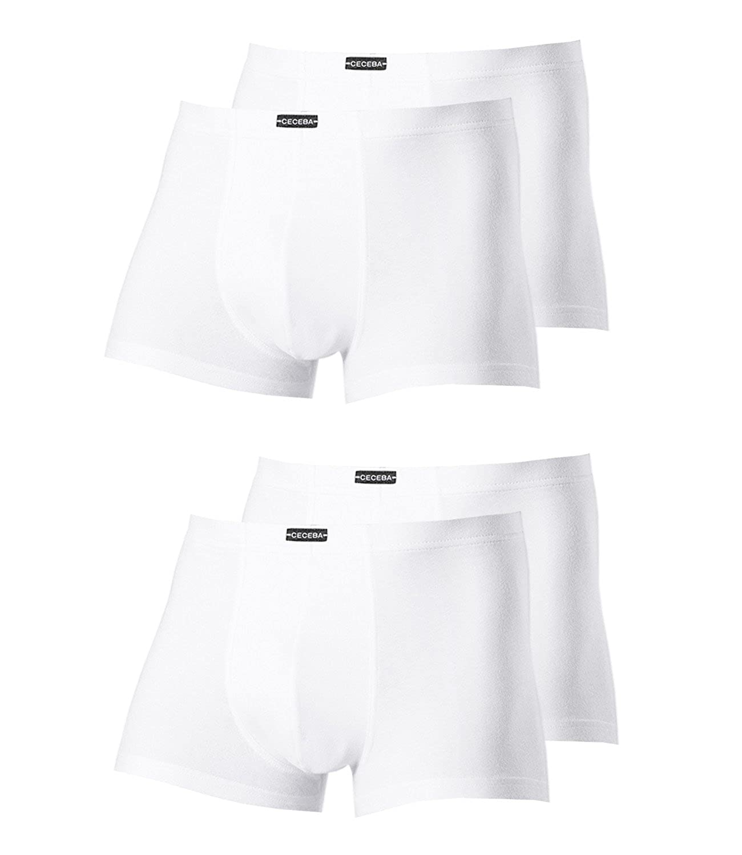 Weiß Ceceba Herren Pants 2700 4er Pack