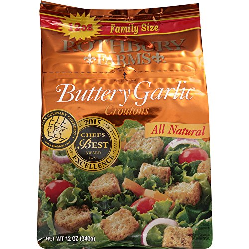 Rothbury Farms Buttery Garlic Croutons ()