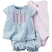 Carter's Baby Girls' Diaper Cover Sets 121g490