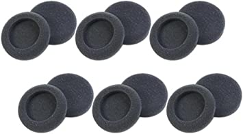 Plantronics 15729-05 Soft Replacement Foam Earpads F// Supra /& Encore Series