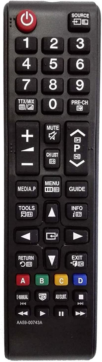Ersatz Fernbedienung passend für SAMSUNG UE 32 B 6000 VW//XXH Remote Control