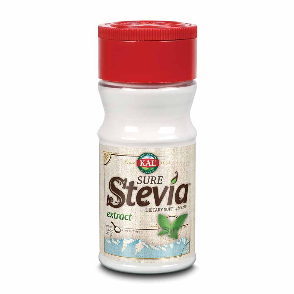 KAL® Sure Stevia Extract Powder, 1.3 OZ. | Best-Tasting, Zero Calorie, Low Glycemic | 730 Servings by KAL (Image #1)