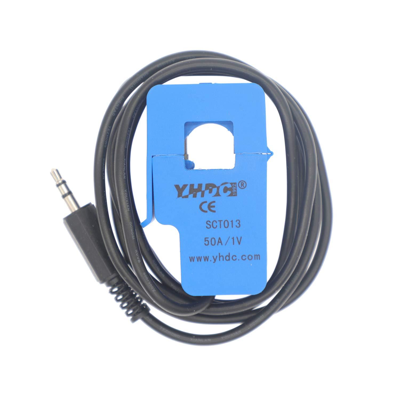 HUABAN 1PCS SCT013-005 5A 1V Capteur de transformateur de courant /à noyau divis/é non invasif