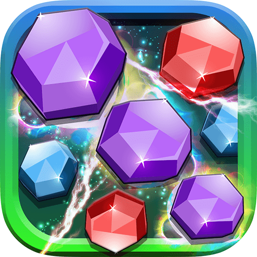 Gems Saga Deluxe - Puzzle Match-3 Jam In Juice Fruit Land (Word Search Fun Deluxe)