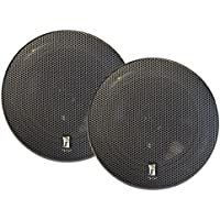 PolyPlanar 5 Titanium Series 3-Way Marine Speakers - (Pair)Black