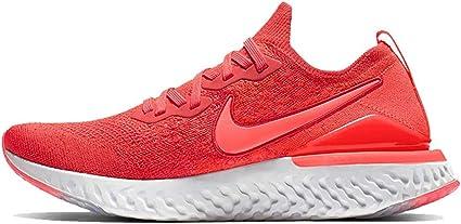 Nike Men's Epic React Flyknit 2 Running Shoe (6, Chile Red/Bright Crimson)