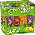 Annie's Cheddar Bunnies/Bunny Grahams Variety Pack 36-1 oz. Snack Packs