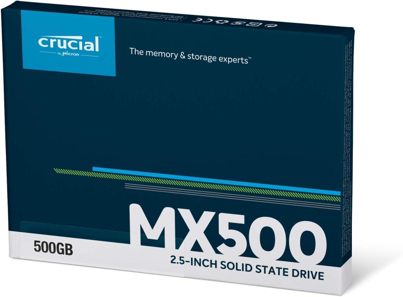 🦂 DISCO DURO ESTADO SOLIDO ⚡ SATA - 500GB - CRUCIAL - sata, partes-y-repuestos, discos-solidos, discos-duros, asys-computadores-asyscom - 618gC2C6ycL. AC SL1500