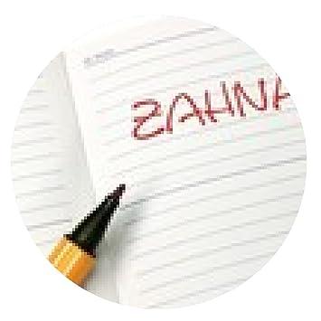 Mousepad Notizbuch Zahnarzt Kalender - rund - 20cm: Amazon.de ...