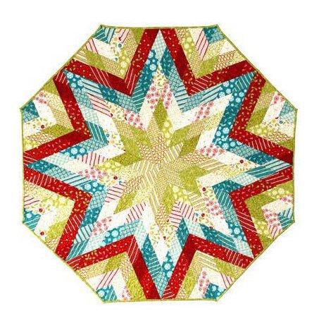 Diamond Tree Skirt - English Paper Piecing Pattern - 44 1/2