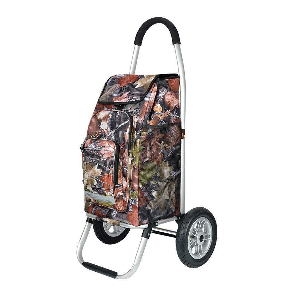 ショッピングカート、トロリードリー多機能食料品折りたたみピクニックビーチ - 3色 (色 : Jungle)  Jungle B07QJB3FSC