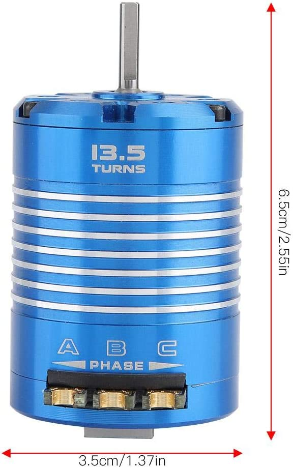 13.5T 540 Sensored Brushless Motor for Remote Control RC Car Accessory Part Brushless Motor