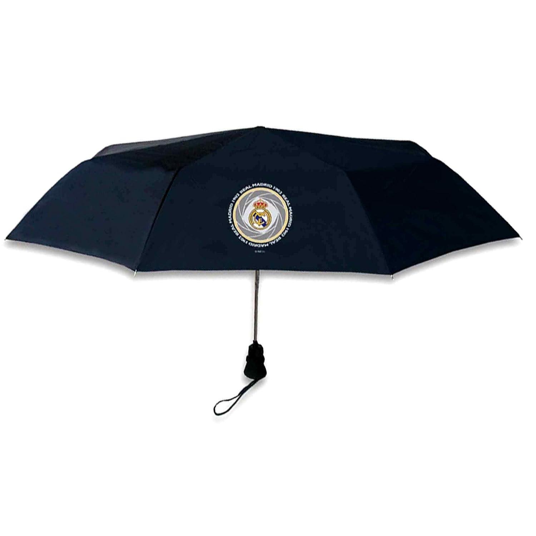 Compact Official Real Madrid (La Liga) Umbrella For Outdoor Events