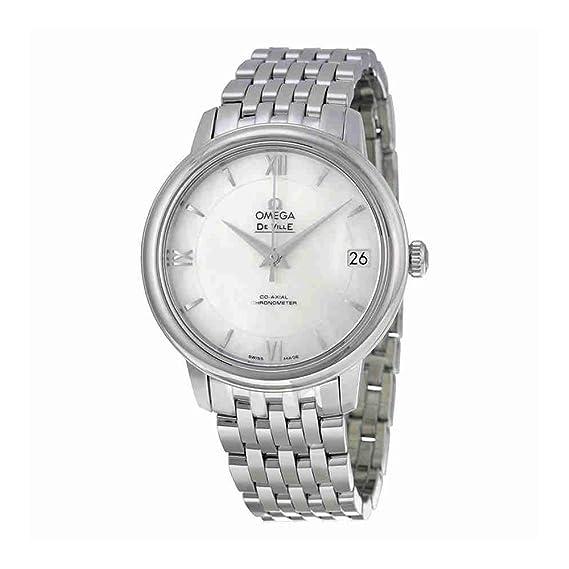 Omega Mujer 33 mm acero pulsera y caso automático analógico reloj 42410332005001