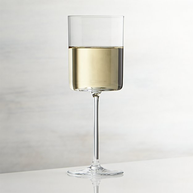 Edge 13 oz. Wine Glass | Crate and Barrel