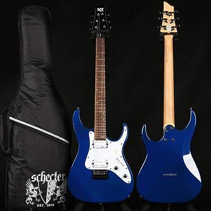 Miiliedy Juego de guitarras eléctricas para principiantes Práctica ...