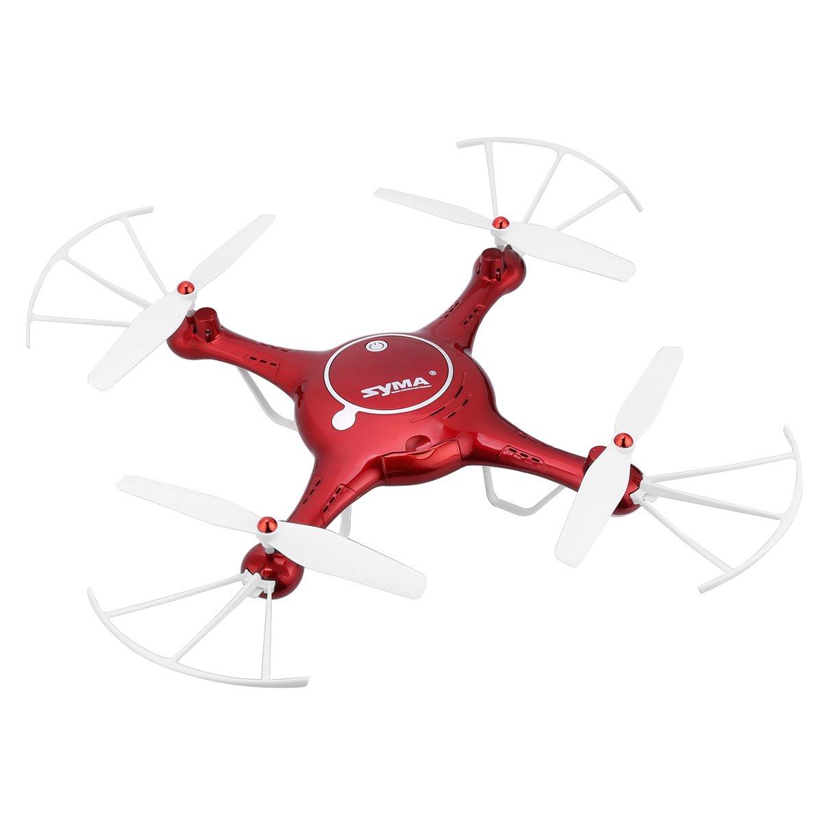 Garantía 100% de ajuste Syma X5UW - Drone Quadcopter RC FPV Sin Sin Sin Cabeza 6 Axis Gyro (Cámara 720P, 4 Canales, 2.4GHz, 360 ° Tirones, Soporta Tarjeta de Memoria 4G) (Rojo)  Todos los productos obtienen hasta un 34% de descuento.