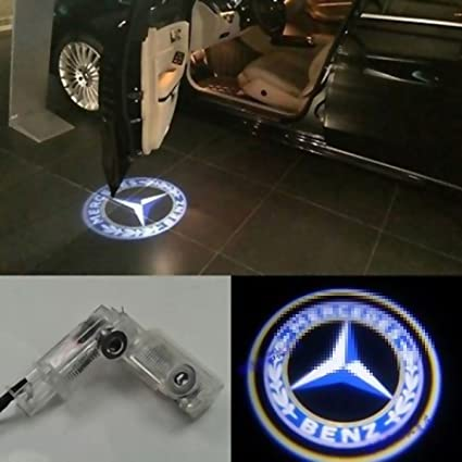 2X LED Door Courtesy Light Laser Shadow Logo Projector L& For Mercedes Benz W164 ML280 ML300 & Amazon.com: 2X LED Door Courtesy Light Laser Shadow Logo Projector ...
