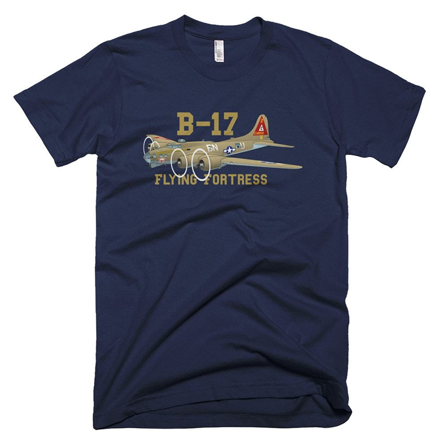 Boeing B-17 Flying Fortress Custom Airplane T-shirt - Personalized your N