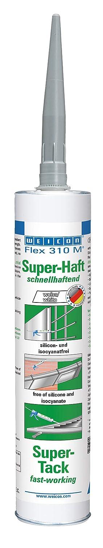 Weicon 13650290 Flex 310 M Super-Haft 290ml MS-Polymer weiß sehr hohe Anfangshaftung