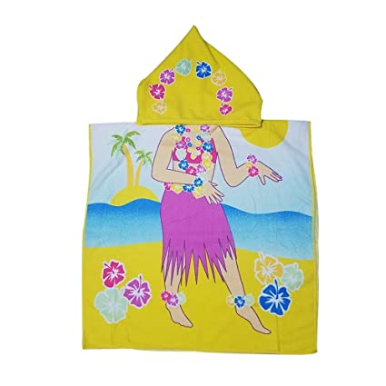 Toalla de baño con capucha para bebés y niños, 100 % algodón prémium, para