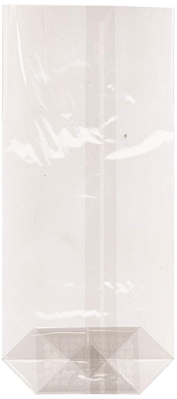 Transparente 9.5 x 21 x 30 cm Set de 100 9.5 x 21 cm Garc/ía de Pou Bolsas Neutras