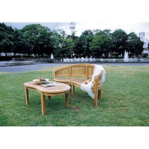 ジャービス商事 バナナテーブル 『ガーデンテーブル』 無塗装 B06XPZVT8G