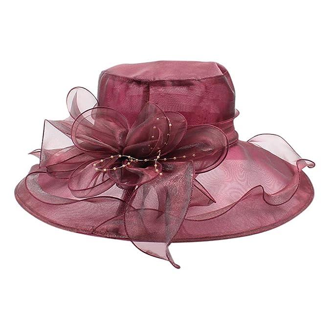 dettagli per 100% qualità tra qualche giorno Siswong Cappello da Sposa da Cerimonia Cappello Protezione Solare ...
