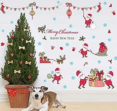 Merry Christmas Wall Stickers Wall Murals