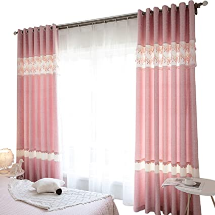 Amazon.com: Curtain, New Nordic Princess Style Living Room ...