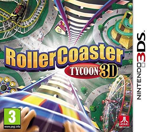 Rollercoaster Tycoon 3D (Nintendo - 3ds Roller Coaster