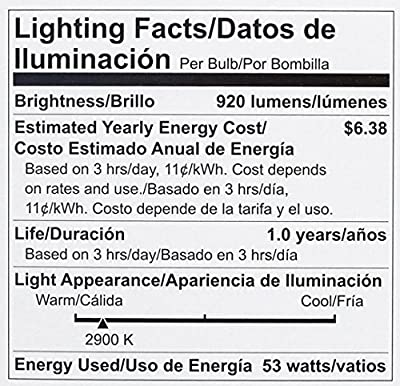 Philips Halogen Dimmable PAR30S Flood Light Bulb: 2860-Kelvin, 53-Watt (75-Watt Equivalent), Bright White, E26 Medium Screw Base
